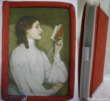 notebook, The secrets of the red book, paper diary