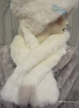 elegant shawl collar, white wolf faux-fur, winter wedding