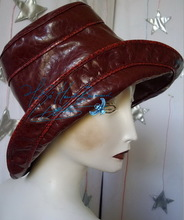 it rains, rain hat, win red imitation tortoise, woman