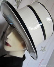 summer rain-hat, marine-wind, night-navy and white-croco