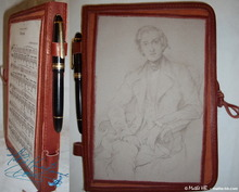 writing notebook, Frédéric Chopin