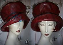 rain hat, snake-black-red, 60-61/ XL